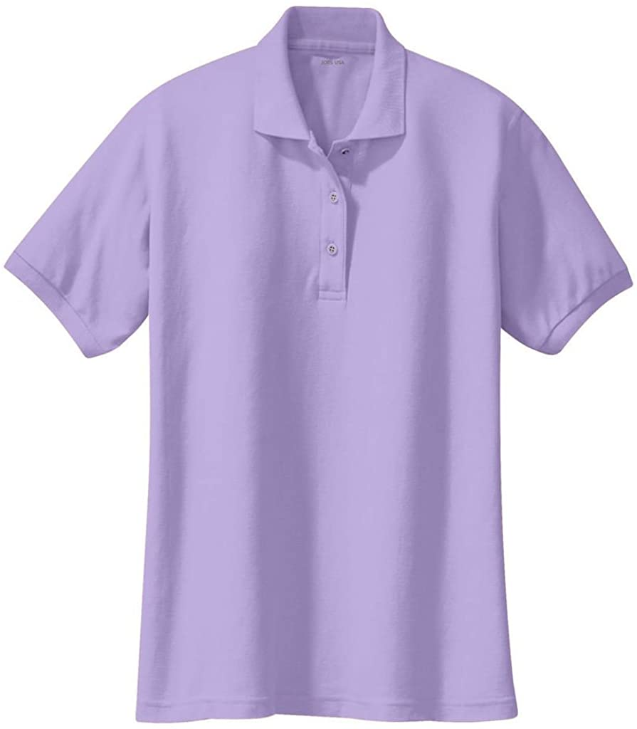 Joe's USA Ladies Short Sleeve Polo Shirts in 36 Colors and Sizes XS - 6XL