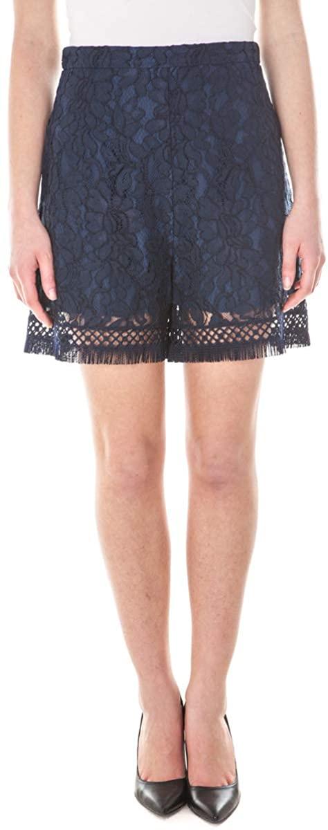 Pinko - Women Shorts 1W10QN6025 Blue Odette
