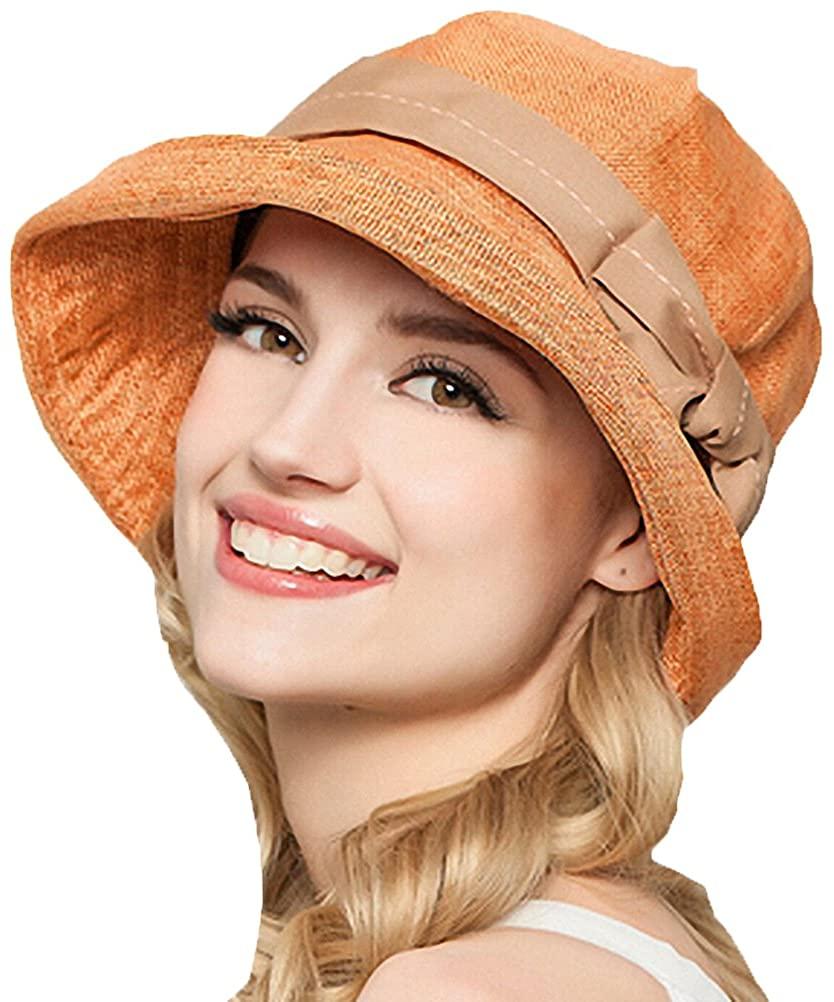 Maitose Women's Sun Protection Bucket Hat