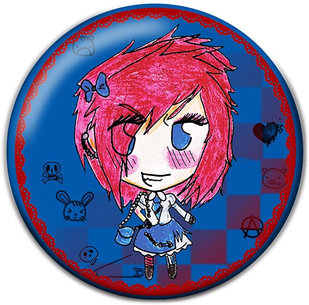 Lolita Punk Pinback Button Badge
