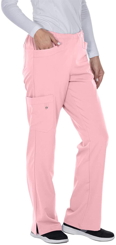 Grey's Anatomy Signature 2208 April Cargo Pant Rose Blush S Tall