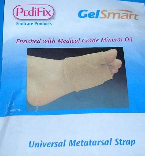 Pedifix GelSmart Mgel Universal Metatarsal Strap Uncovered Gel Large/X-Large Right