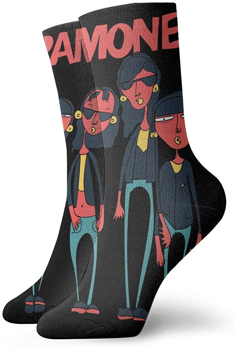 Ramones Personality Stylish Short Socks, Comfortable, Breathable, Light And Casual