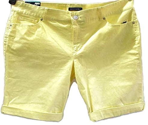 Bandolino Women's Riley 5 Pocket Bermuda Shorts Size 16