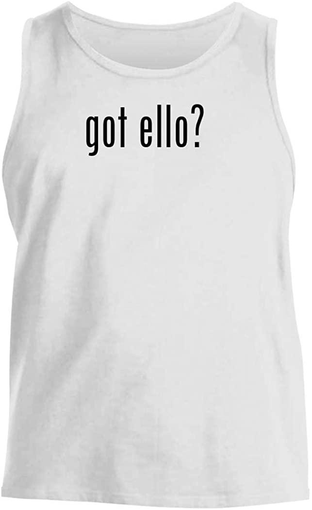 got ello? - Men's Comfortable Tank Top, White, Medium