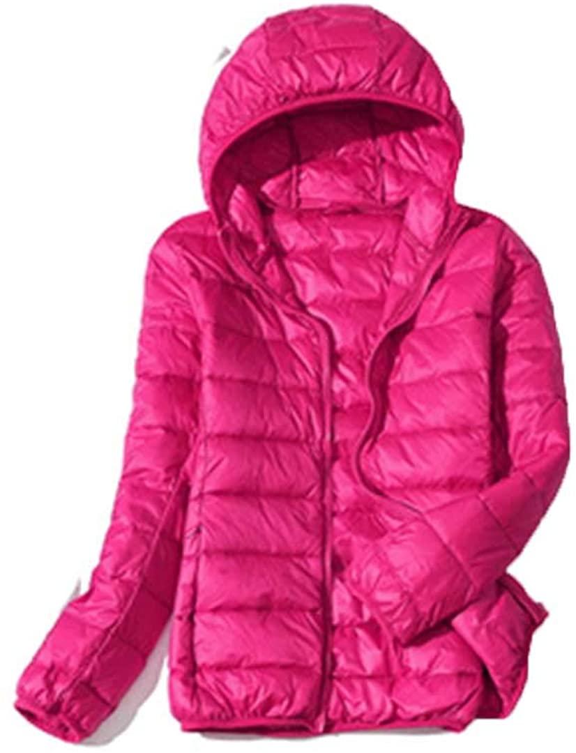 White Duck Down Jacket Women Autumn Winter Warm Ultralight Down Windproof Jacket