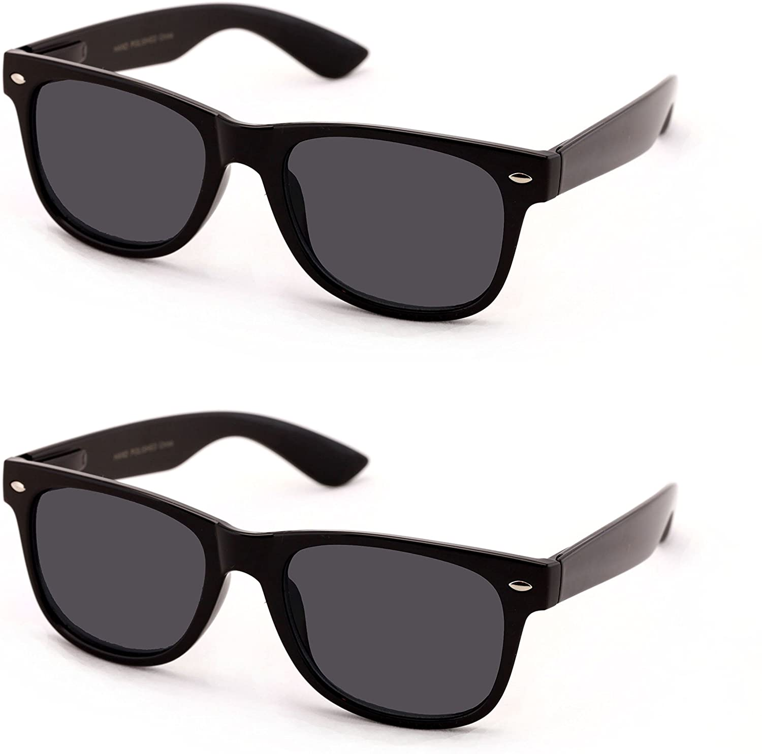 V.W.E Classic Outdoor Reading Sunglasses - Comfortable Stylish Simple Readers Magnification - Not Bifocal