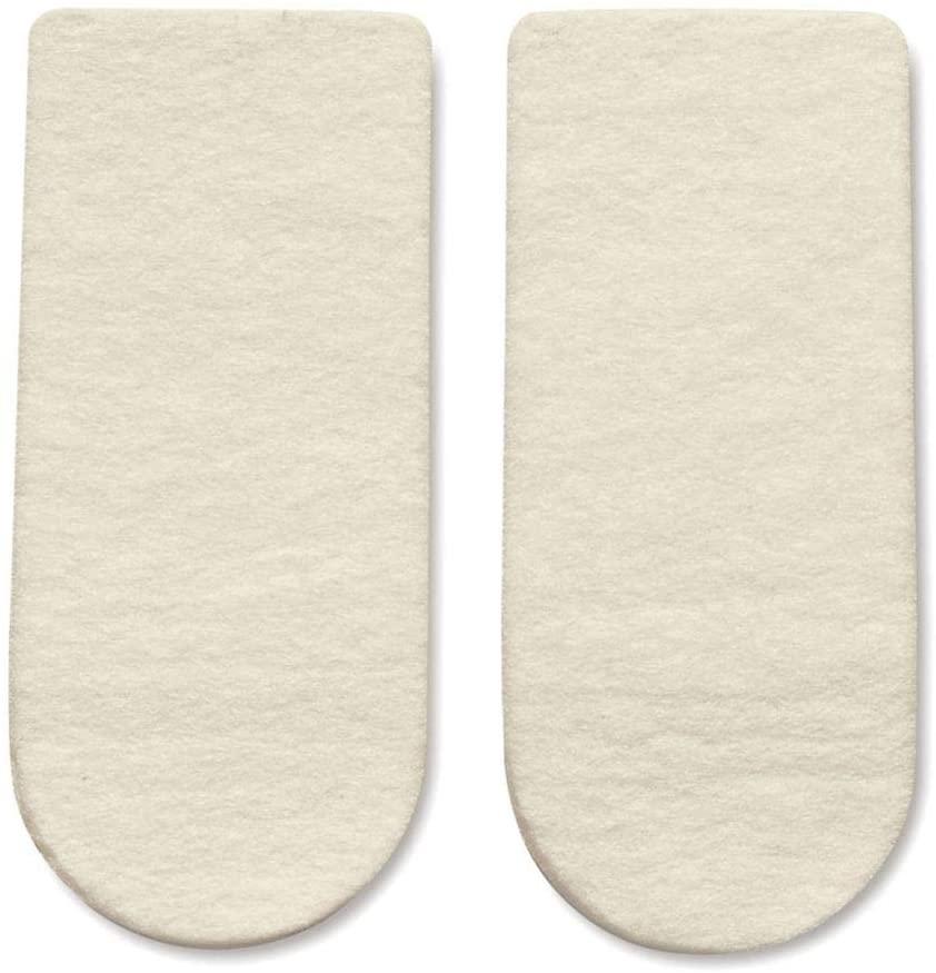 HAPAD 3/4 Length Heel Wedges, Large, 3x9/16 inch, pair