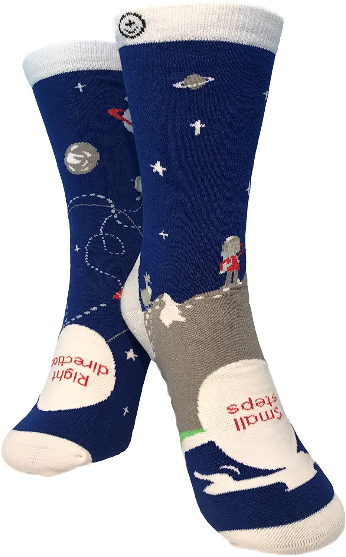 Inspirational socks by Sock Tonic | Socks with Sayings | Cotton Crew Socks