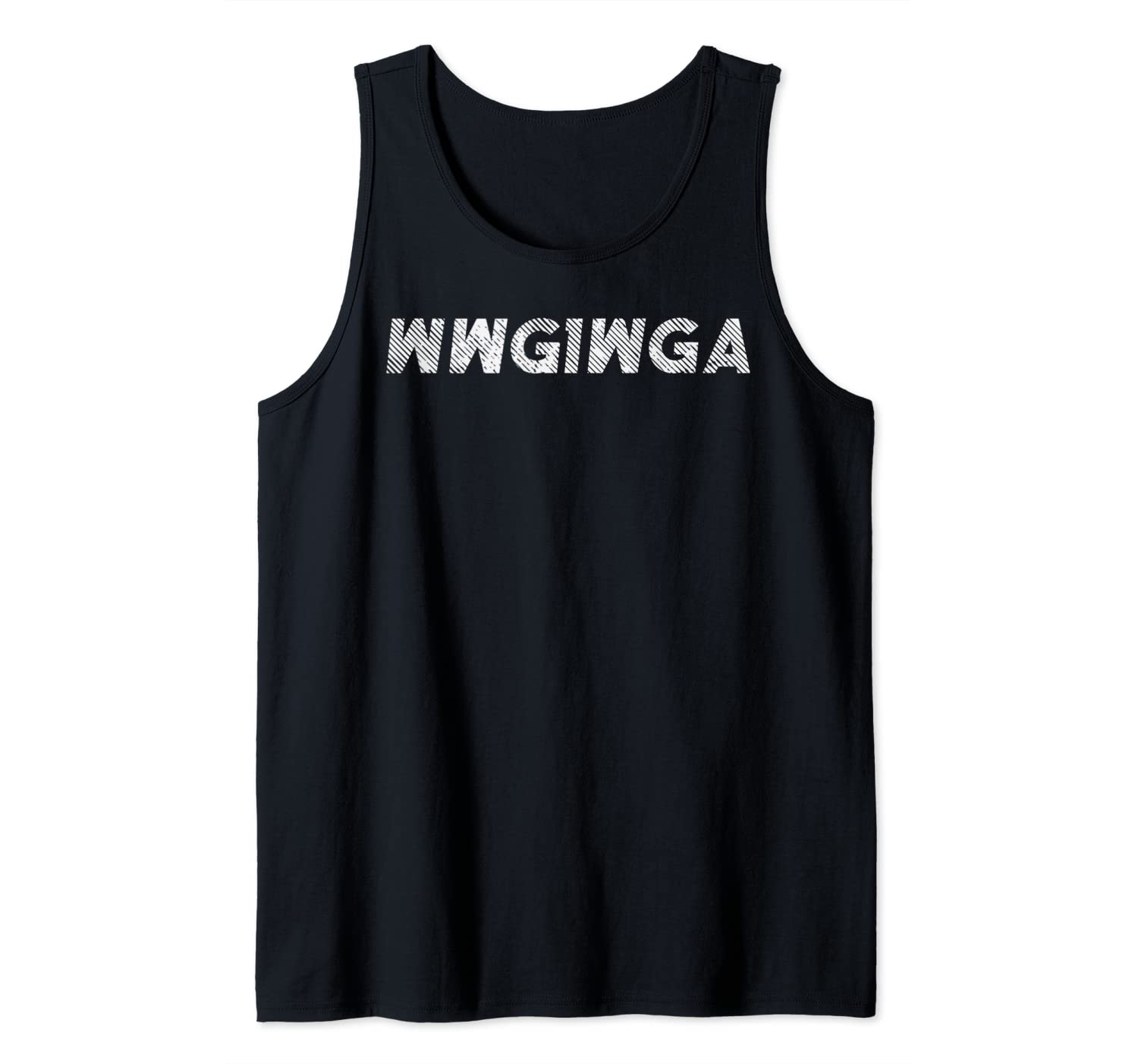 Where We Go QAnon WWG1WGA Great Awakening Conspiracy Gift Tank Top