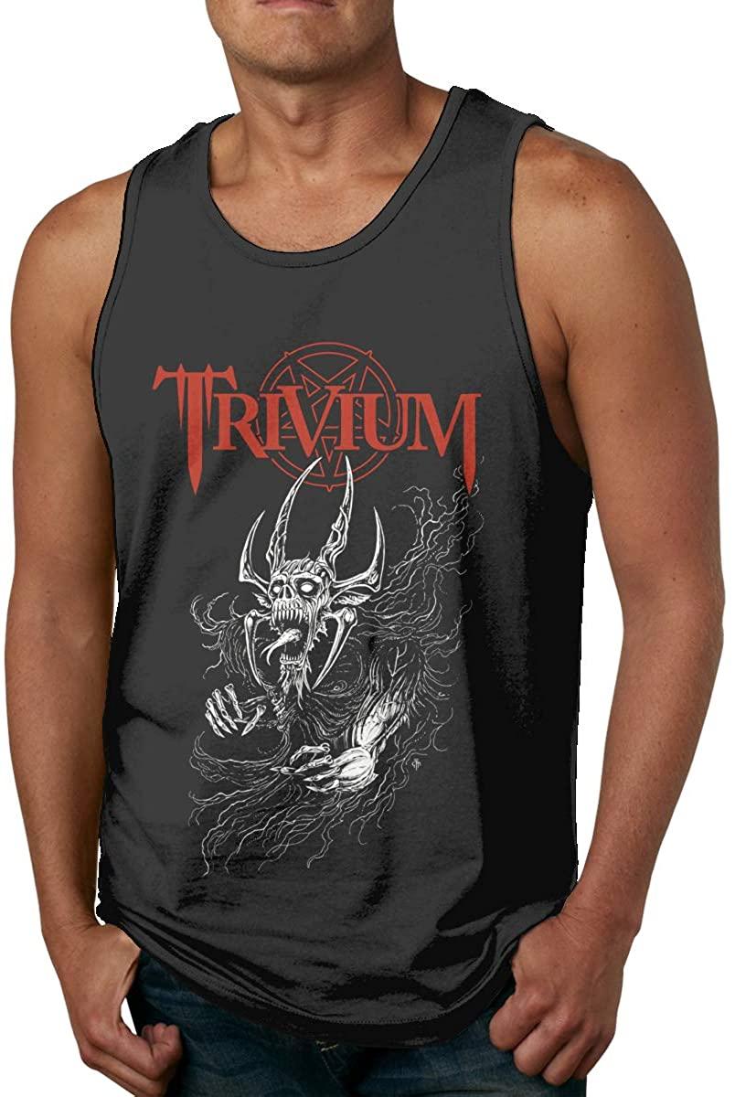 DaigMeng Trivium Men's Fashion Vest Summer Sports Sleeveless T-Shirt