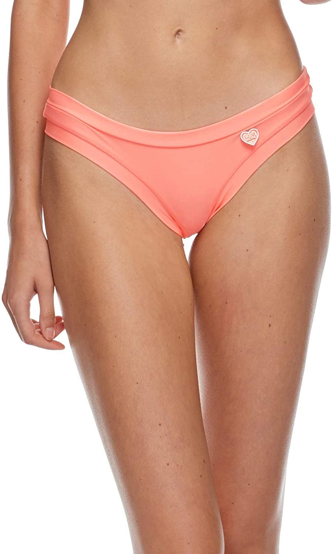 Body Glove Women's Smoothies Audrey Solid Low Rise Bikini Bottom Swimsuit