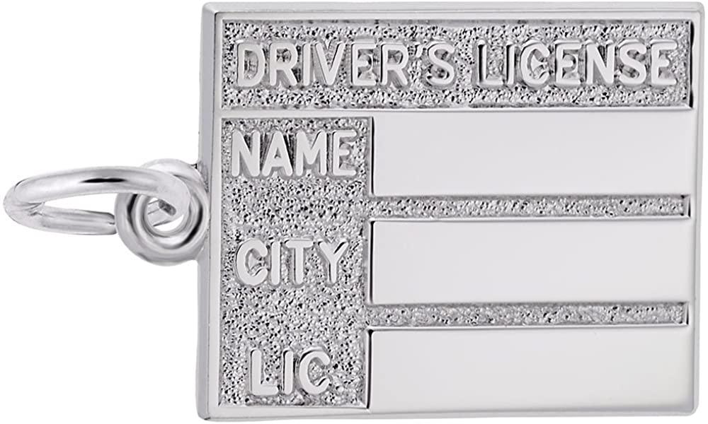 Rembrandt Charms, Drivers License, Engravable