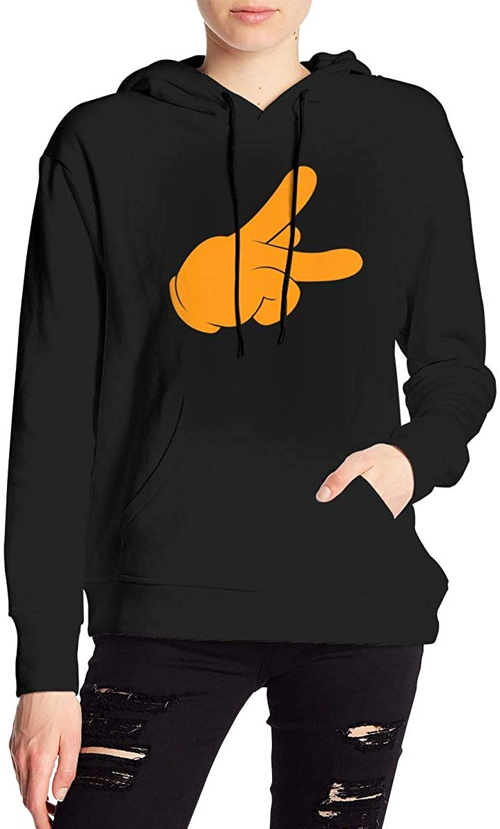 Nbcf Peace Women's Long Sleeve Drawstring Pullover Hoodie Pocketed Sweatshirts