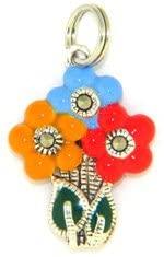 Judith Jack Bouquet of Flowers Charm