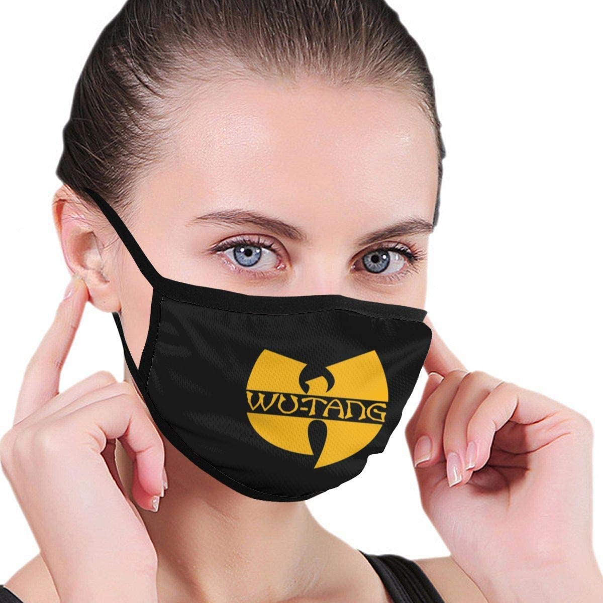 TOVIHUA WuTang Dustproof Face UV Protective, Multi Layers Cover, Washable, Reusable Cotton Face Coves