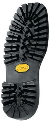 Vibram # 132 Montagna Block Unit Sole Black Color Size 12 - Shoe Repair - 1 Pair