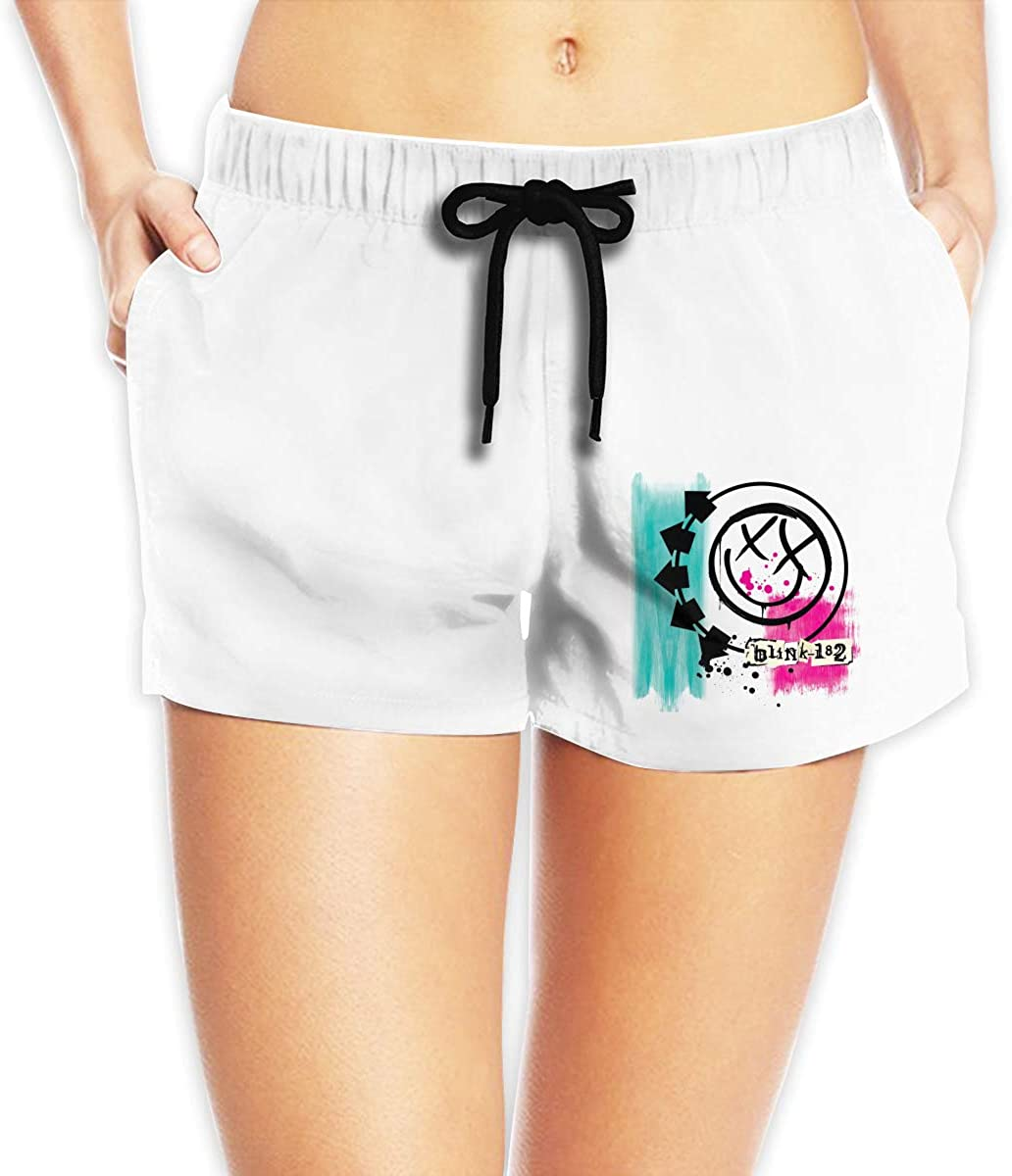 Women Sexy Hot Pants Summer Casual Shorts Blink 182 Short Beach Trousers