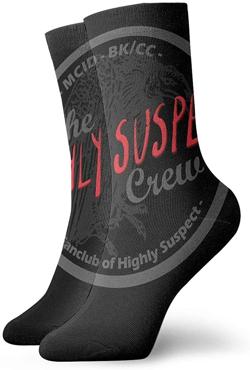 Highly Suspect Personality Stylish Short Socks, Comfortable, Breathable, Light And Casual