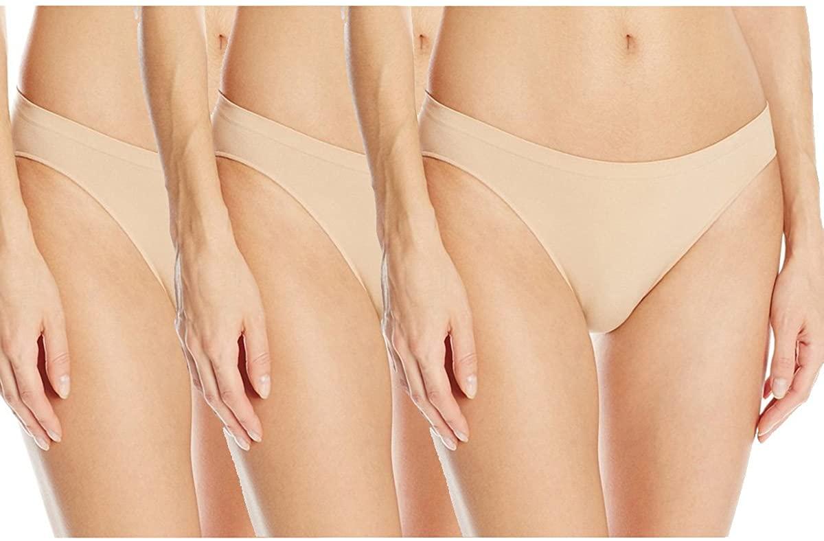 CLOYA Women's Seamless Invisible Bikini Panty
