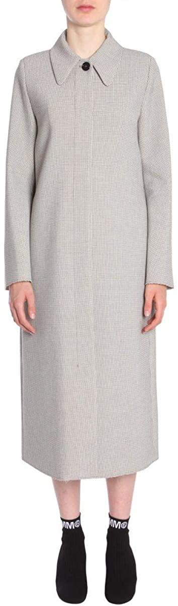 Maison Margiela Luxury Fashion Woman S52AA0056S48960001F Beige Polyester Trench Coat | Season Outlet