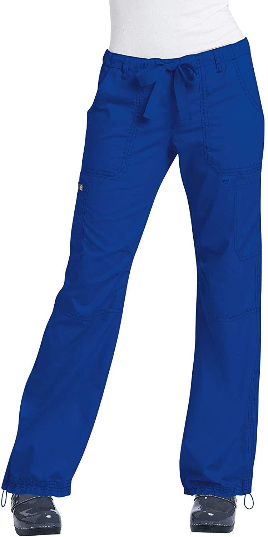 KOI 701 Women's Lindsey Pant (Cobalt Blue, X-Large)