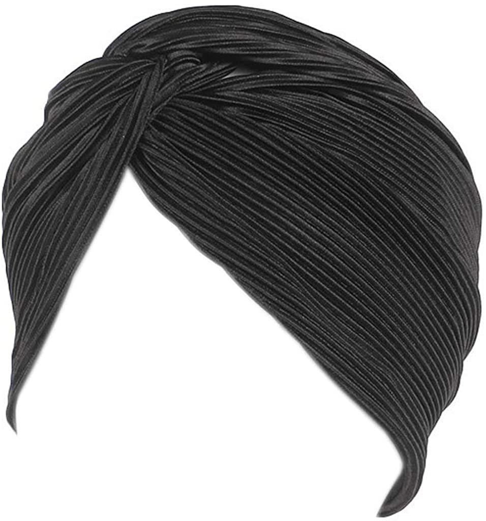 YiYi Operation Women's Sleep Turban Hat Pre Tied Cancer Chemo Beanie Caps Turban Headwrap Headwear