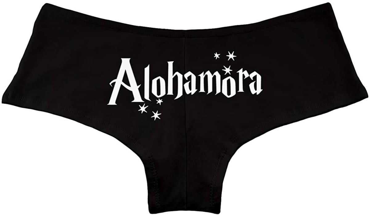 Alohamora HP Spell Women's Boyshort Underwear Panties
