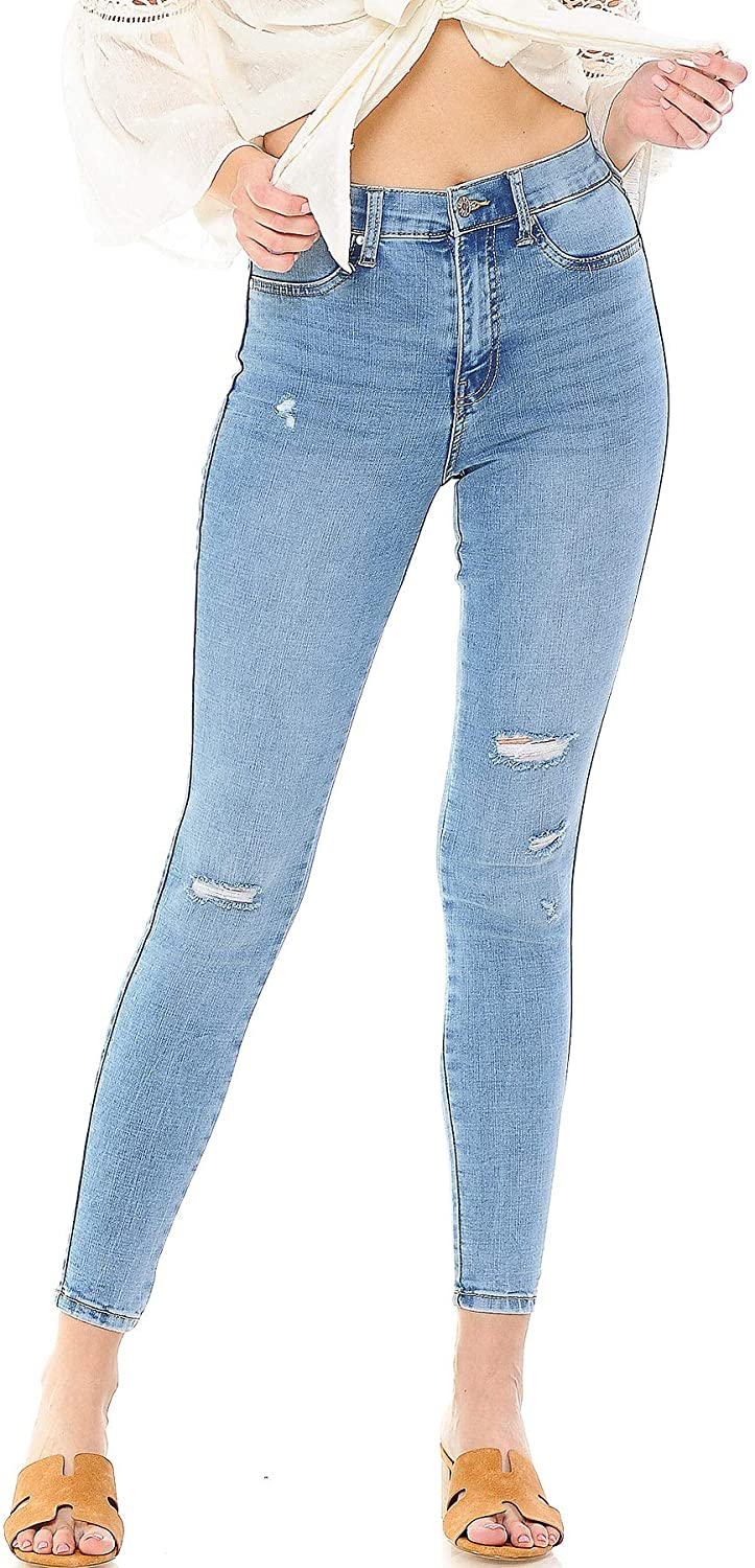 Celebrity Pink Jean Women's Juniors High Rise Skinny Jeans