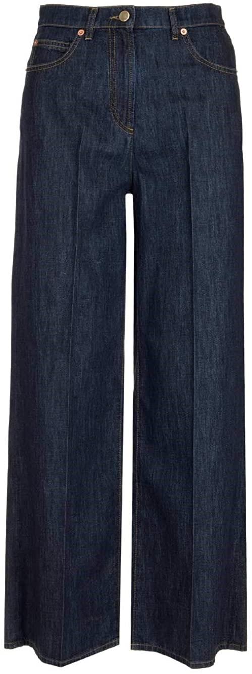 Valentino Luxury Fashion Woman TB3DD09L55F299 Blue Cotton Jeans | Spring Summer 20