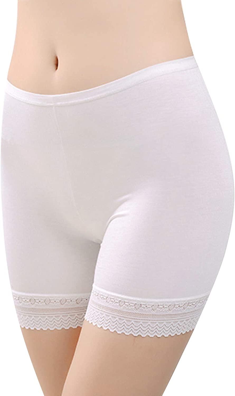 LONTG Slip Shorts Thigh Slimmer Shapewear Stretch Panties Anti Chafing Boyshorts Mini Dance Yoga Workout Underskirt Underwear