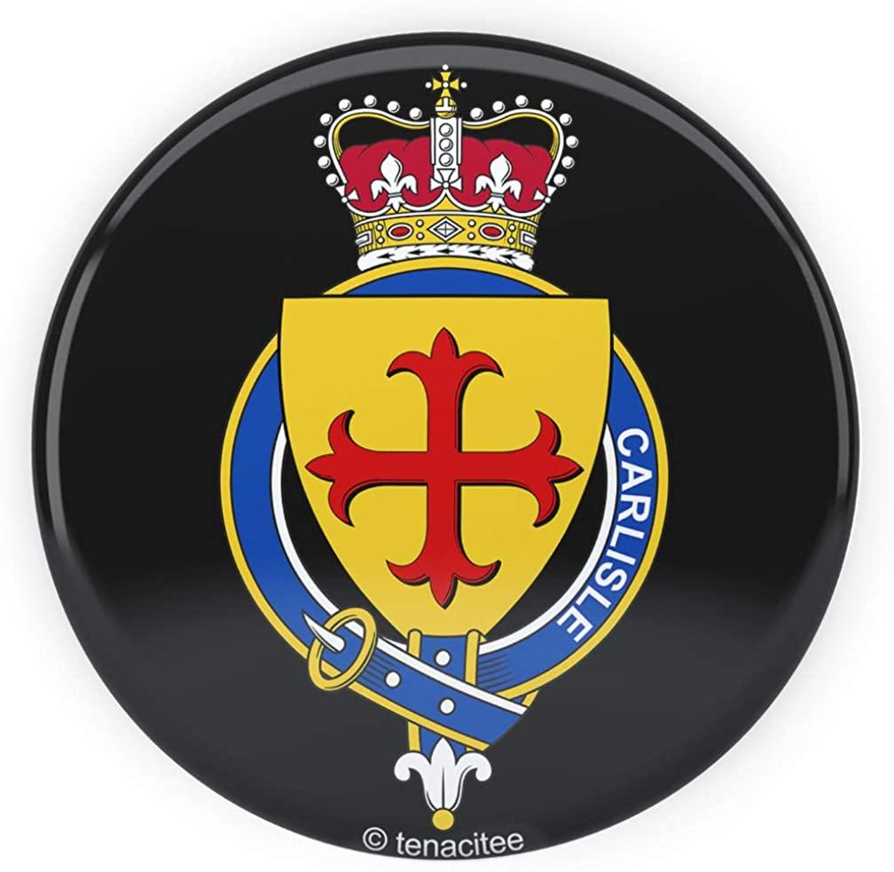 Tenacitee Scottish Garter Family Carlisle Pinback Button