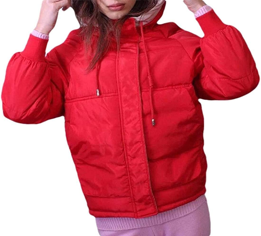 Ghsywgy Fashion Women Lightweight Packable Ultra Down Jackets Outwear Puffer Coats