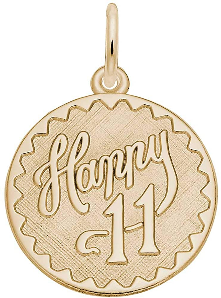 Rembrandt Charms 11th Birthday Charm