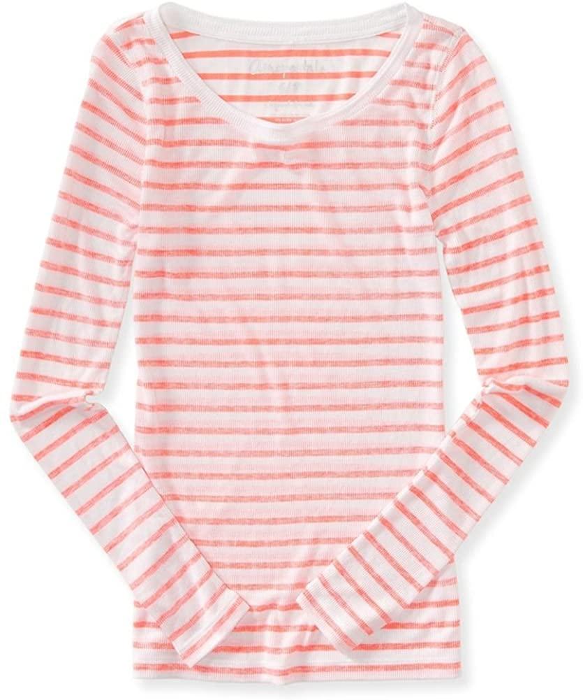 AEROPOSTALE Womens Striped Graphic T-Shirt