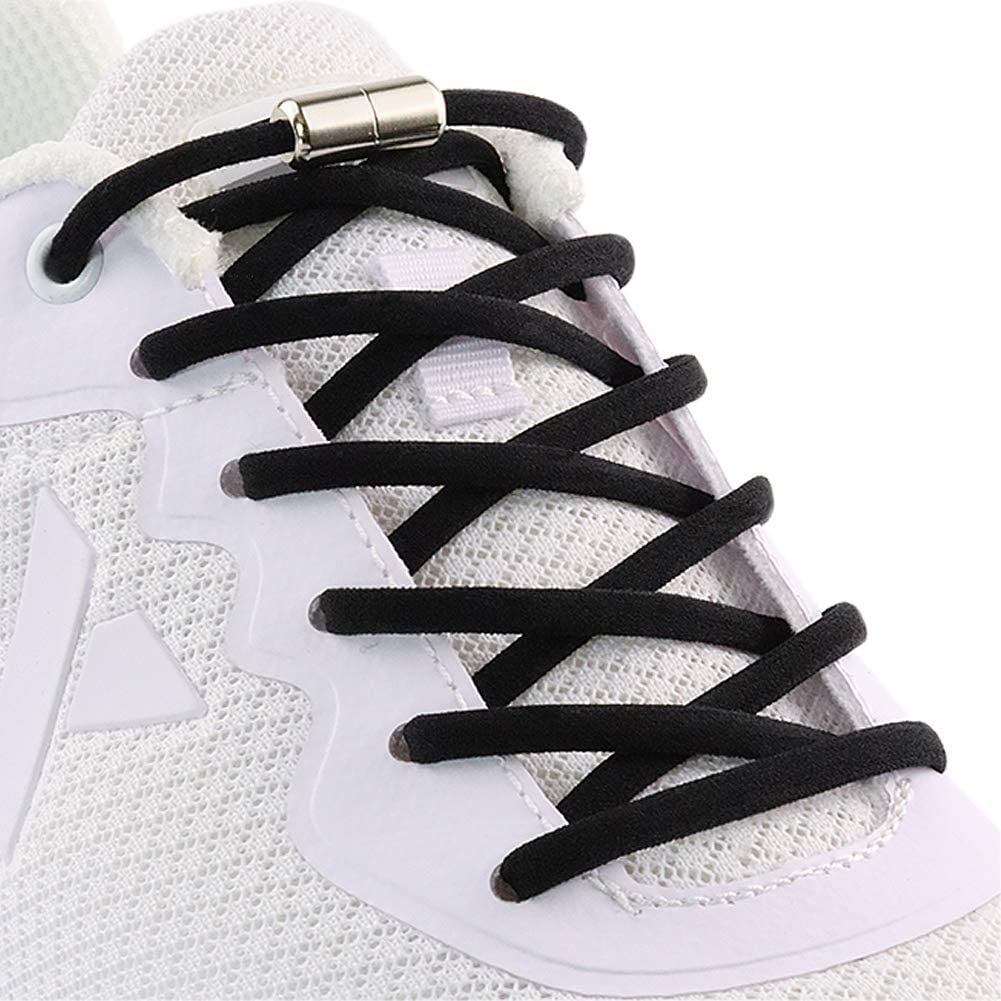 Elastic No Tie Shoe laces for Adults,Kids,Elderly,One Size Fits for Sneakers, Casual Shoes