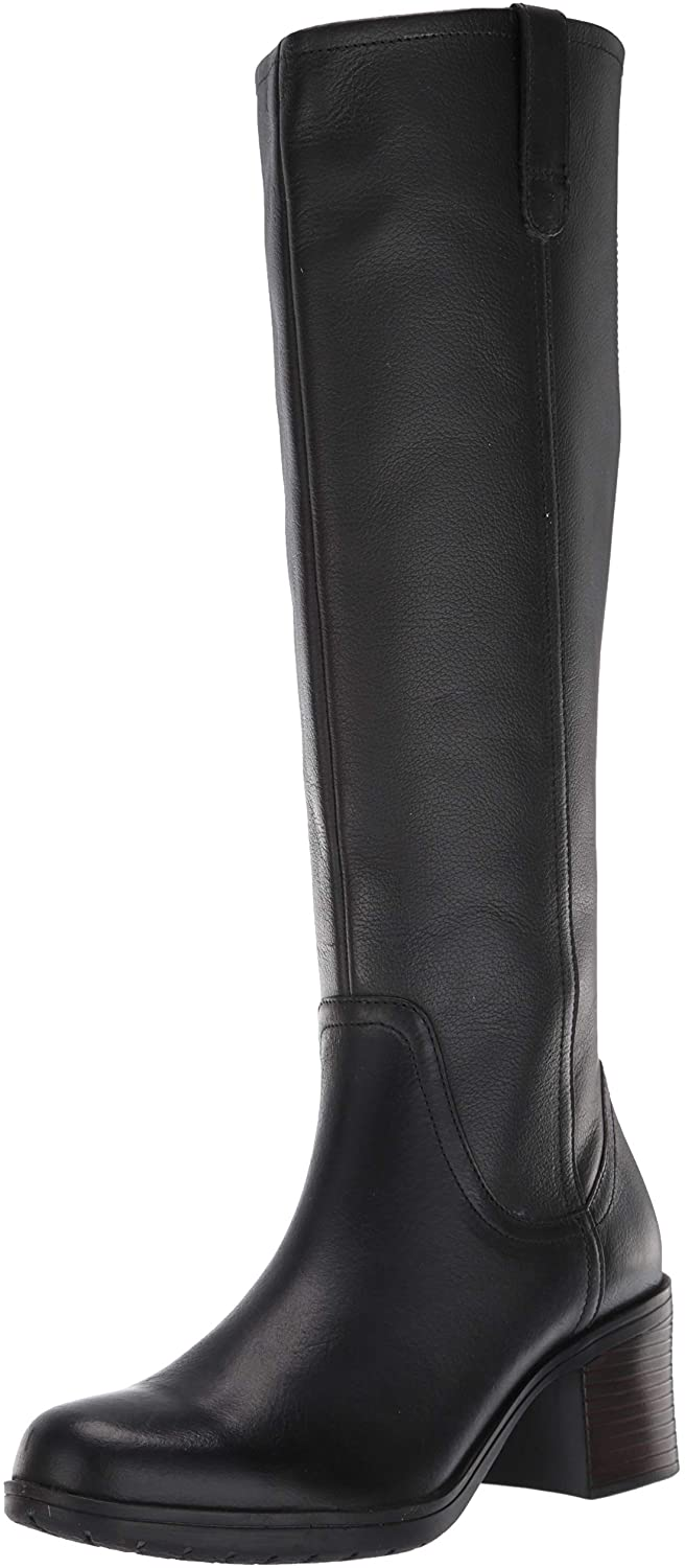 Clarks Womens Hollis Moon Knee High Boot