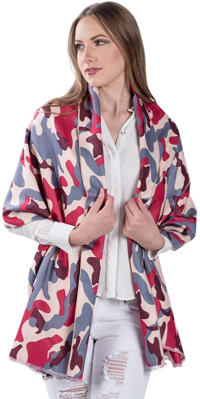 Womens Winter Warm Scarf Thick Soft Cashmere Wool Pashmina Shawl Wrap Scarf