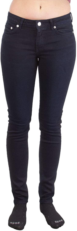 BLK DNM Women's Slim Jeans, Furman Blue, 26x30