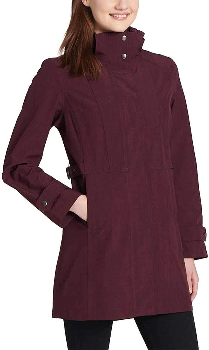 Kirkland Signature Ladies' Trench Rain Jacket - Purple Small