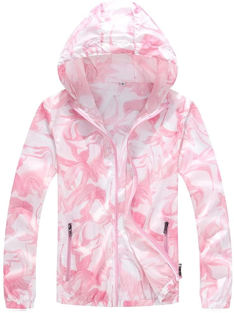 CIKRILAN Women's Outdoor Sun Protection Anti-UV Lightweight Camo Beach Jacket