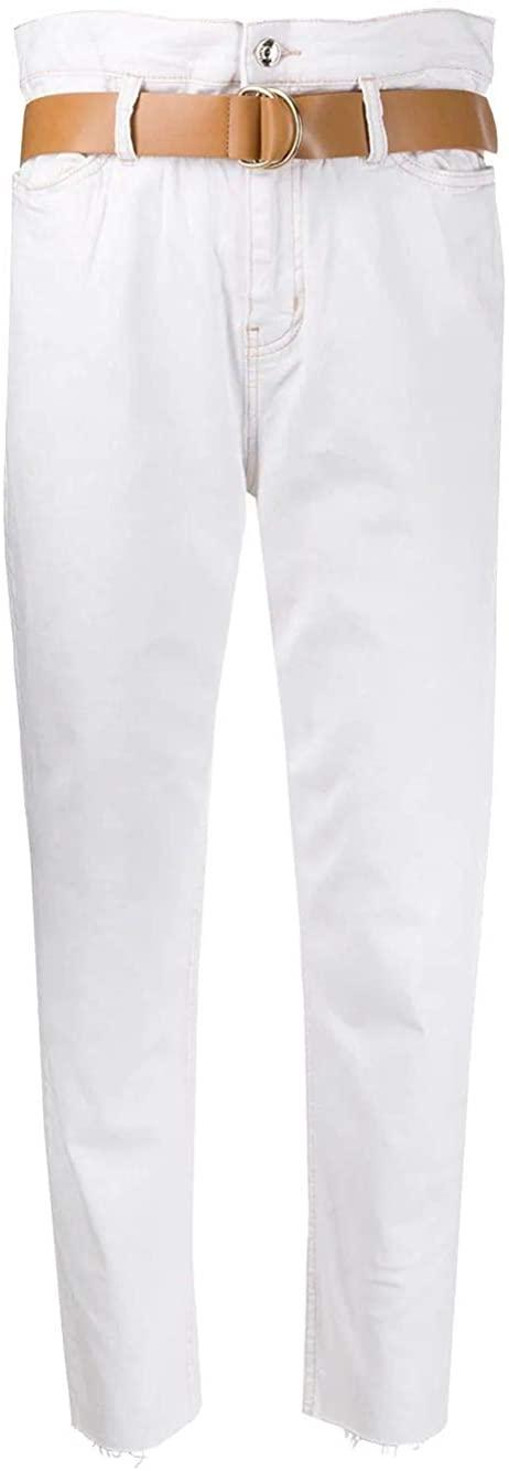 Liu Jo Luxury Fashion Woman WA0281T644610701 White Cotton Jeans | Spring Summer 20