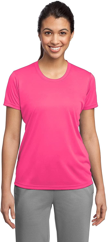 Sport-Tek Ladies PosiCharge Competitor Tee XL Neon Pink