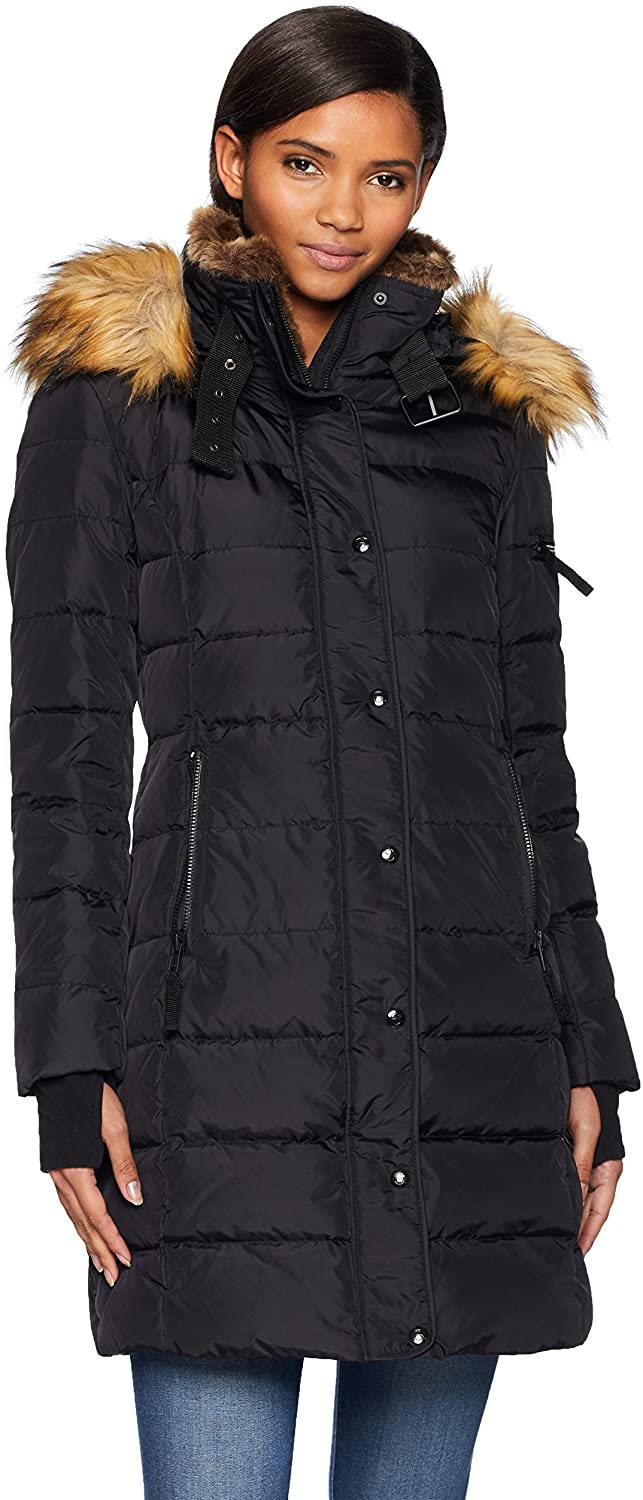 S13 Womens Uptown Long Down Puffer Coat