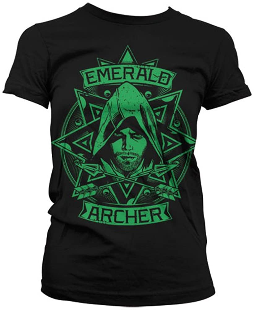 Officially Licensed Merchandise Arrow - Emerald Archer Women T-Shirt