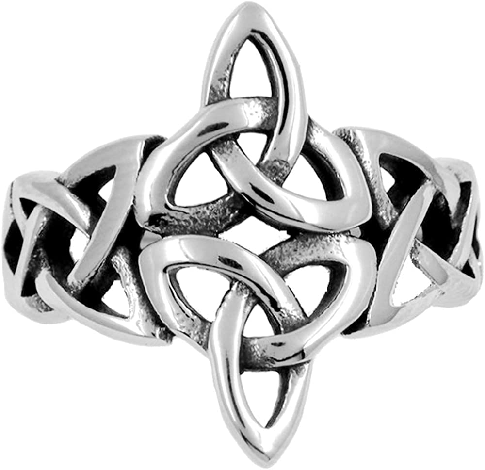 Jude Jewelers Stainless Steel Celtic Knotted Braid Promise Statement Wedding Engagement Ccoktail Party Ring