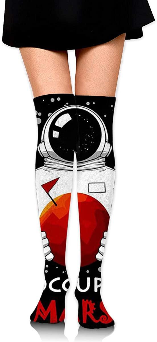 Game Life High Socks Occupy Mars Sport Socks Crew Socks