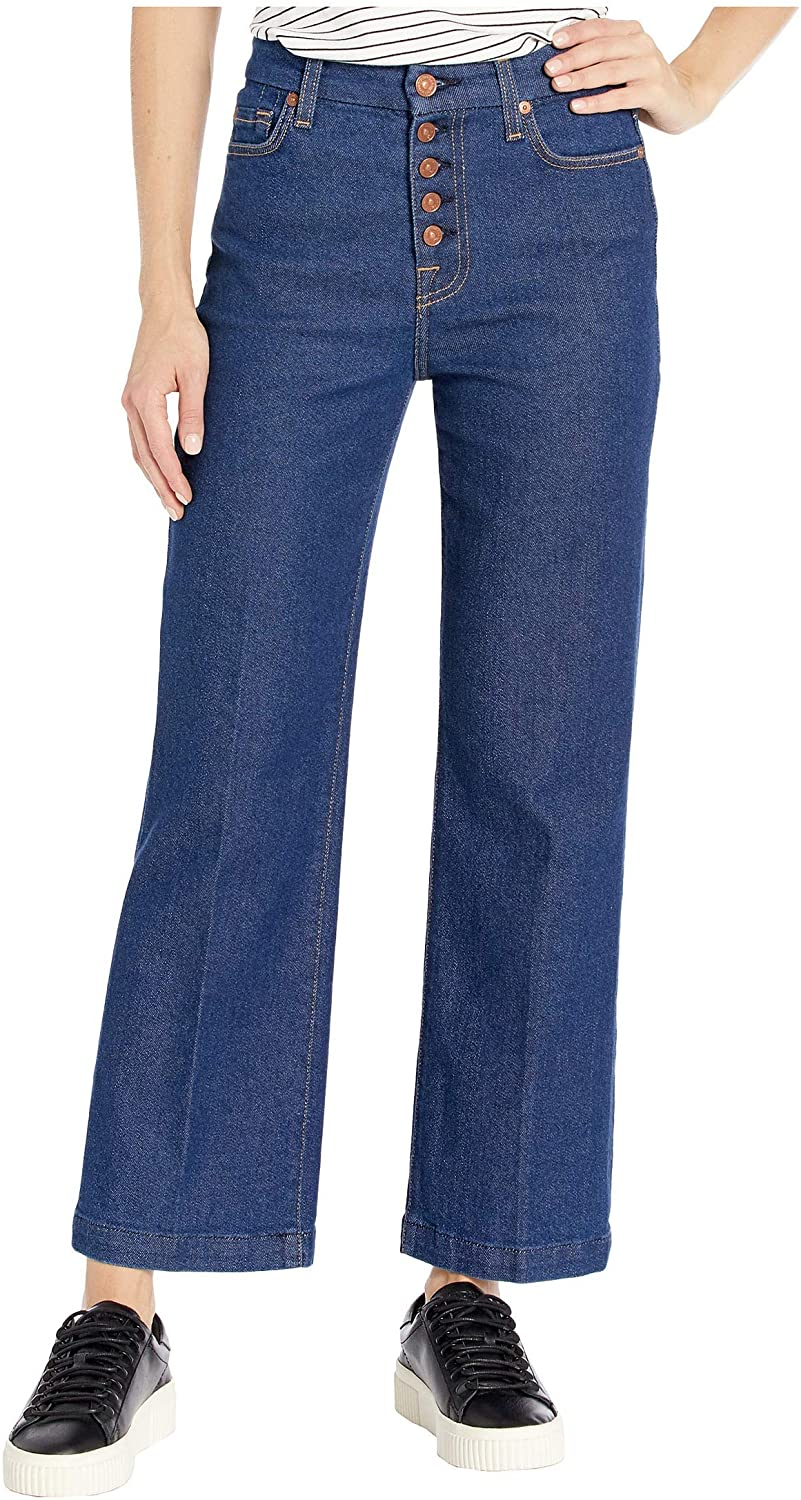 7 For All Mankind Cropped Alexa in Fauna