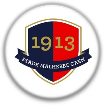 Caen : French Football League, Pinback Button Badge 1.50 Inch (38mm)