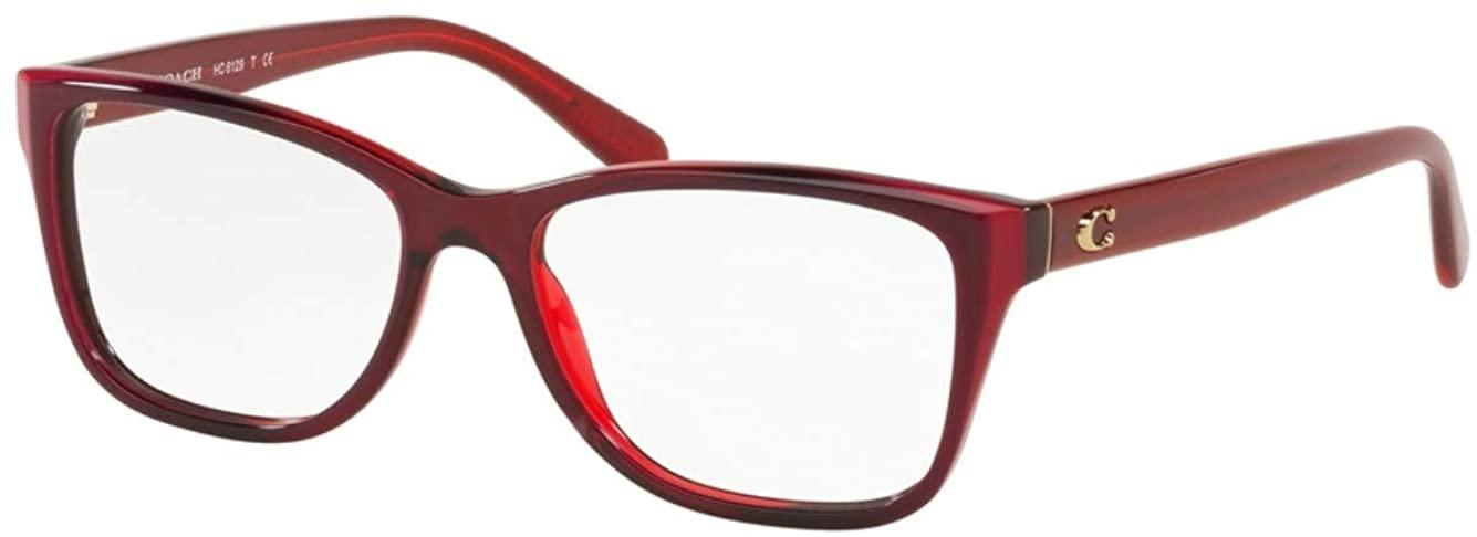 Coach HC6129 Eyeglasses-(5532) Berry Laminate/Demo-54mm